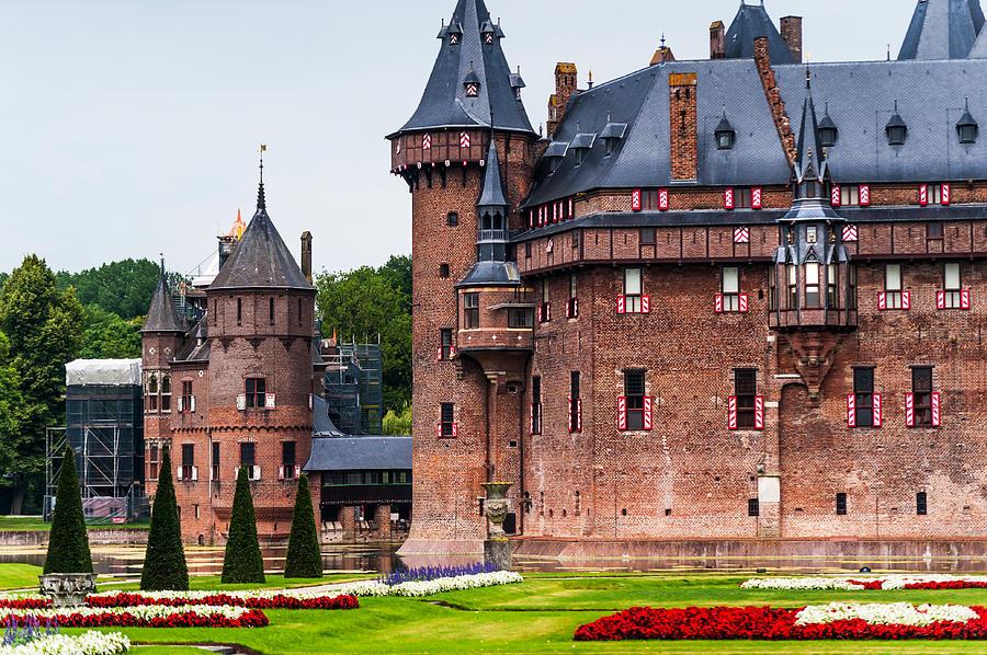 De Haar Castle. Utrecht. Netherlands Photograph