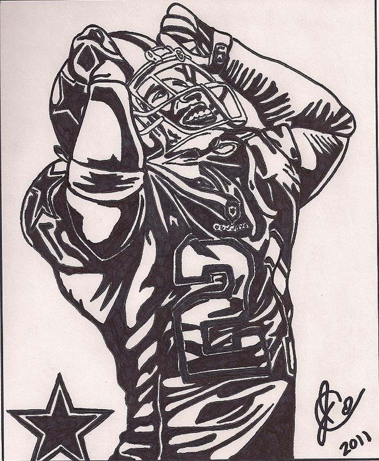 Deion Sanders Drawing