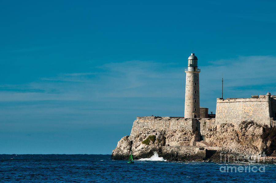 del Morro Lighthouse Photograph