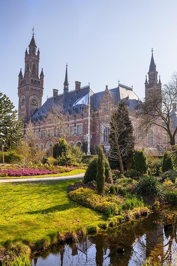 Peace Palace Photograph - Den Haag by Joana Kruse