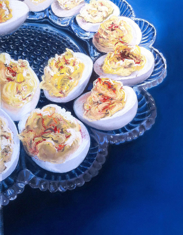 Devilish Eggs Painting  - Devilish Eggs Fine Art Print