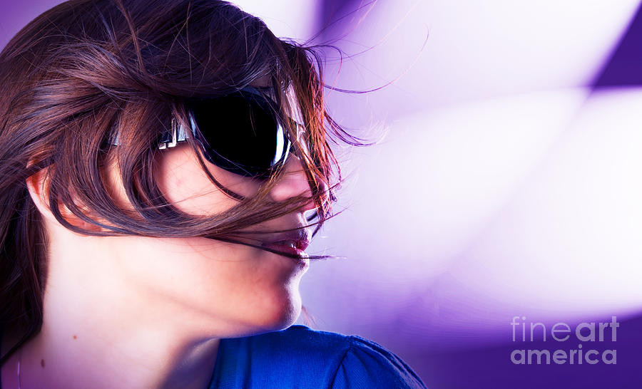 Attractive Photograph - Disco Girl by Michal Bednarek
