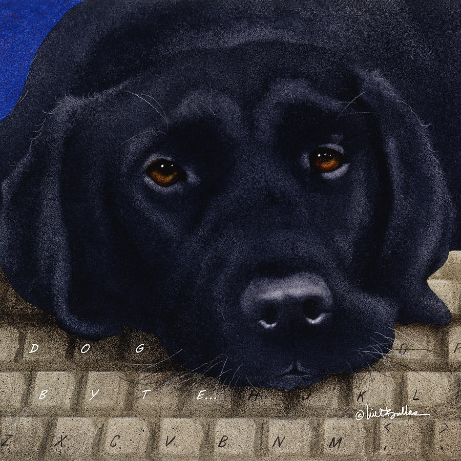 Dog Byte... Painting
