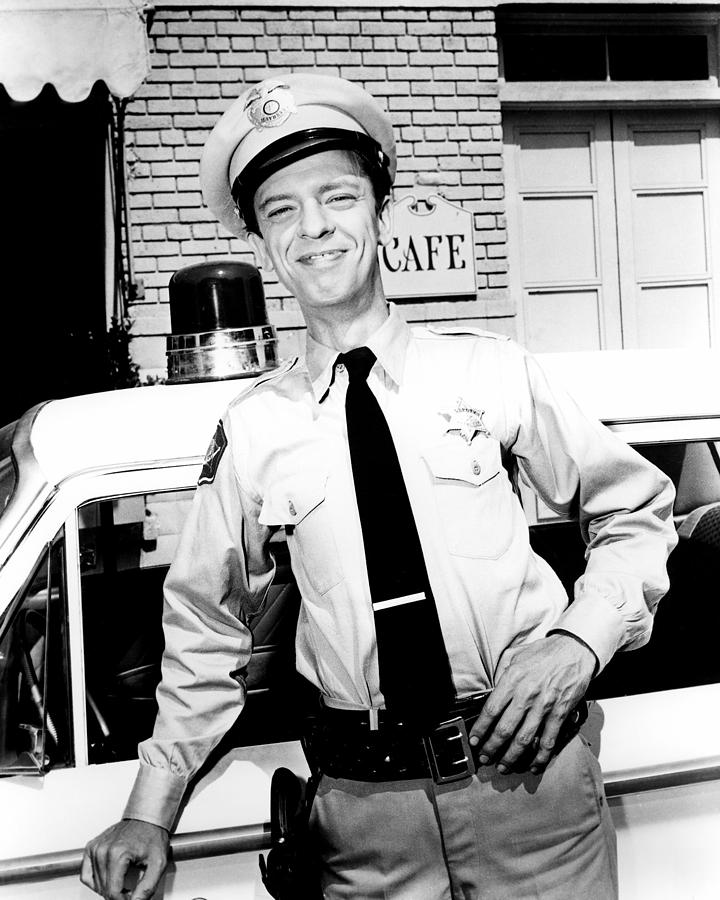 Don Knotts In The Andy Griffith Show Photograph