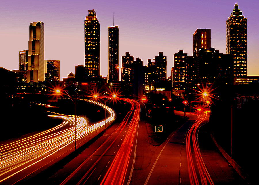 Downtown Atlanta Photograph