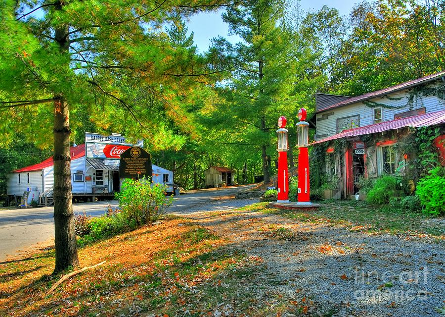 Downtown Rabbit Hash Photograph  - Downtown Rabbit Hash Fine Art Print