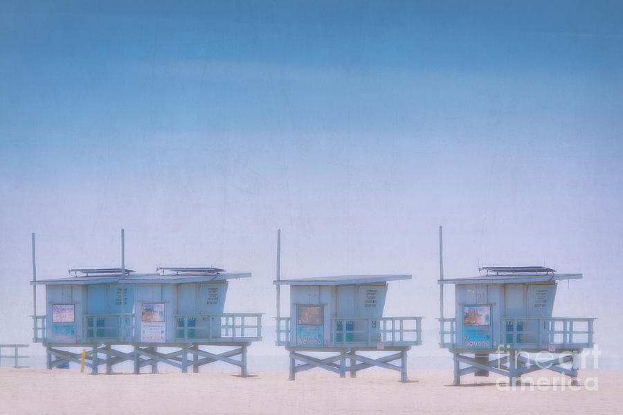 Dreamy Santa Monica Beach Photograph  - Dreamy Santa Monica Beach Fine Art Print