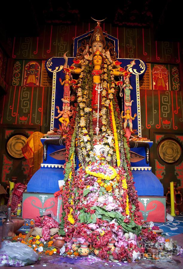 Durga Idol - Ahiritola - Kolkata Photograph