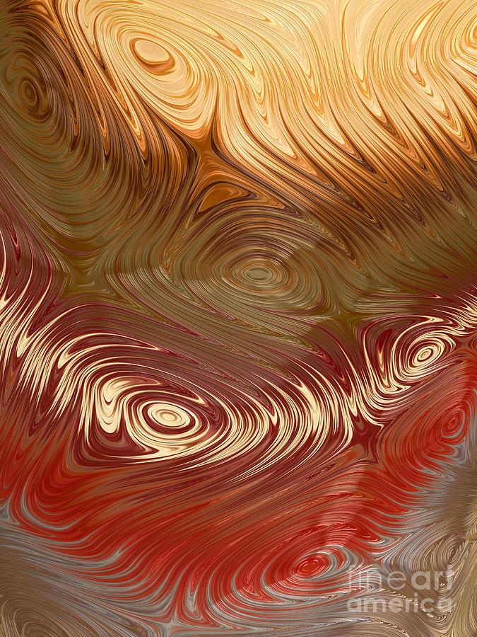 Earth Tones Digital Art