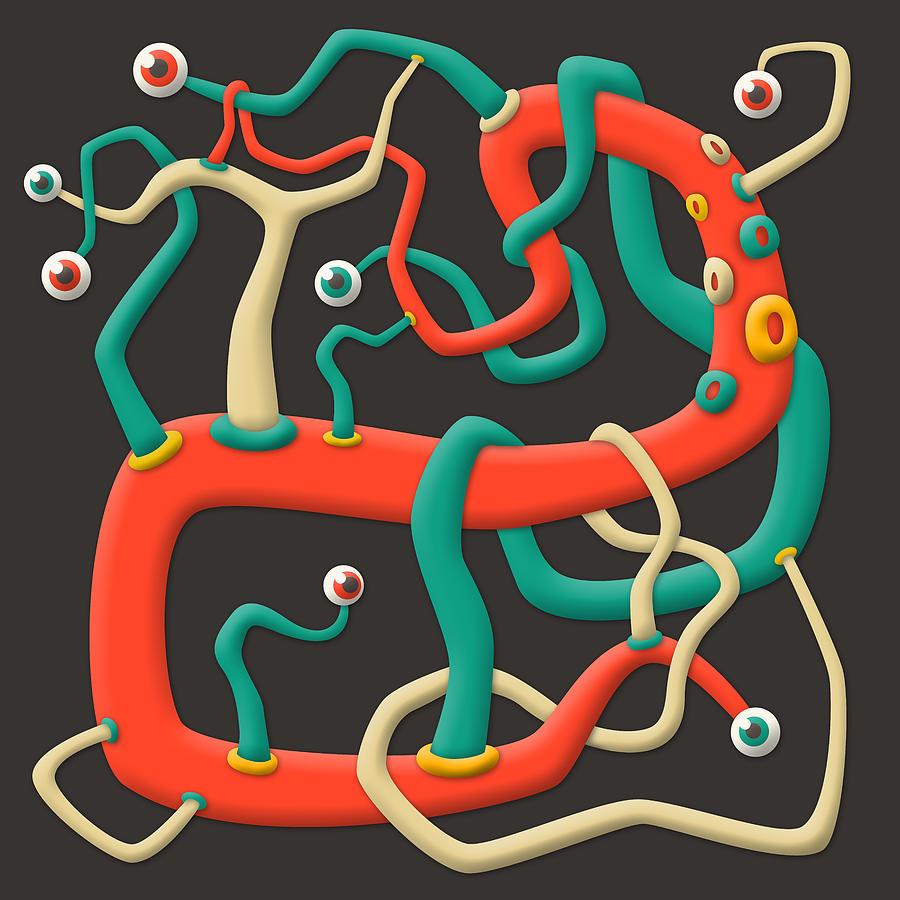Ectoplasm #2 Digital Art