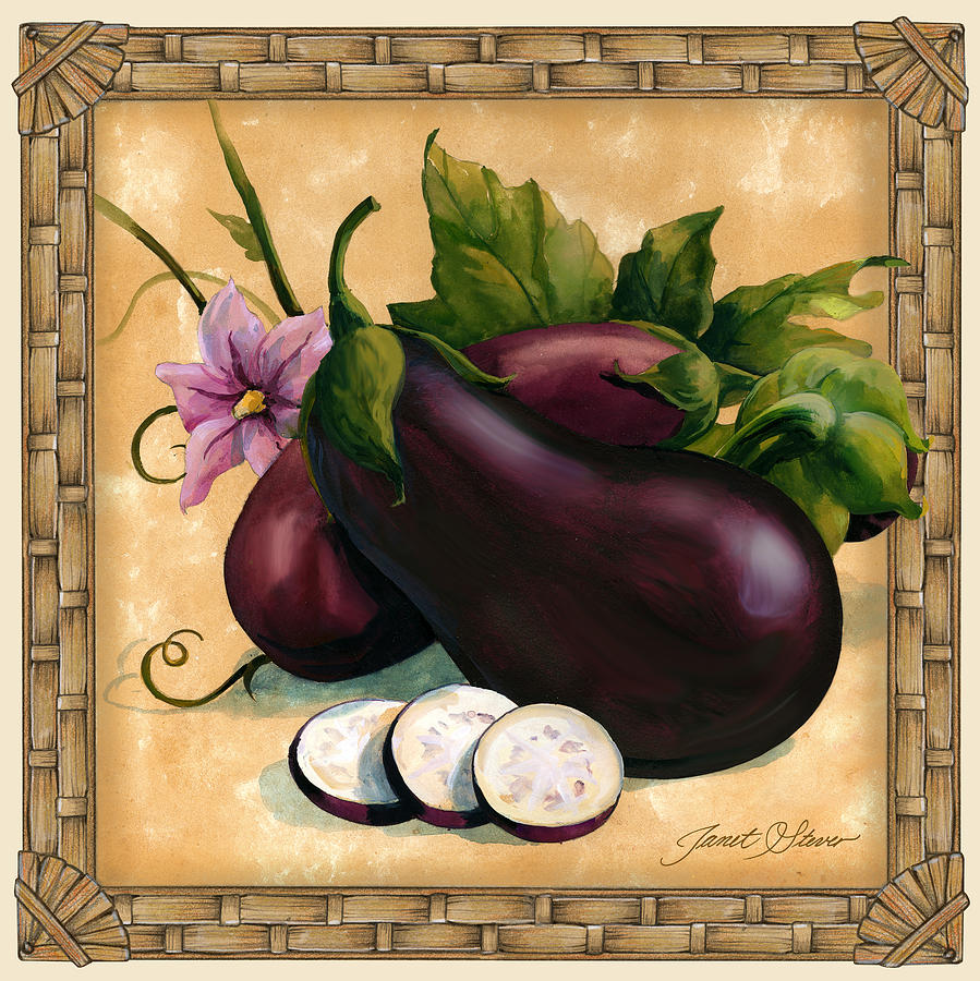 Purple Eggplant Aubergine Kitchen Wall Decor Poster: Pinterest • The World's Catalog Of Ideas
