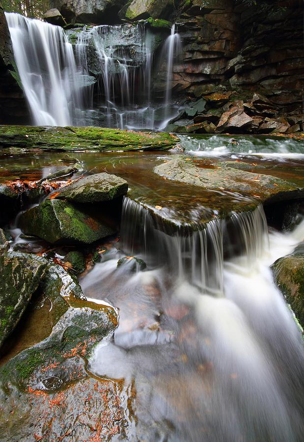Elakala falls in west virginia photograph