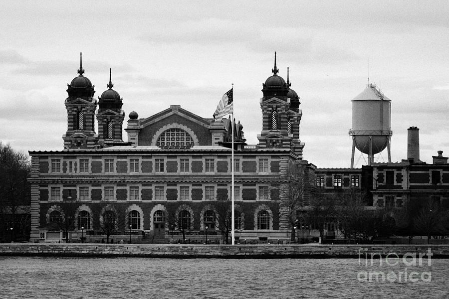 Ellis Island New York City Photograph  - Ellis Island New York City Fine Art Print