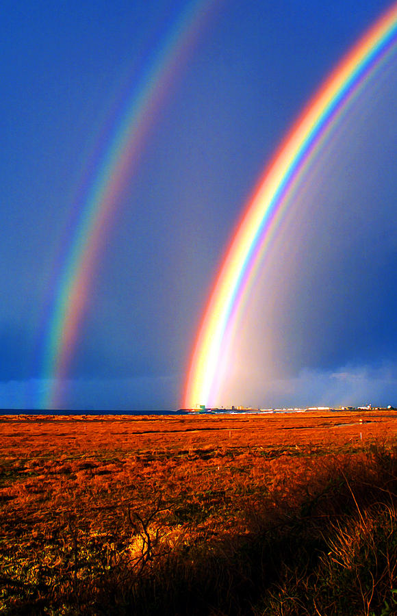 End Of The Rainbow Photograph  - End Of The Rainbow Fine Art Print