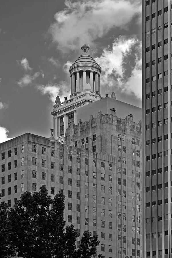 Esperson Buildings Houston Tx Photograph