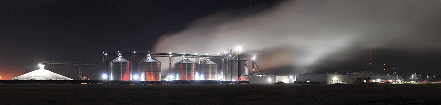 Ethanol Plant In Watertown Photograph