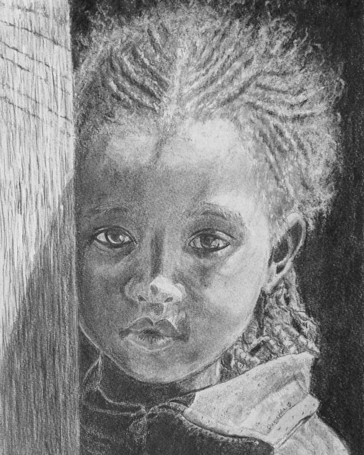Ethiopias Future Drawing  - Ethiopias Future Fine Art Print