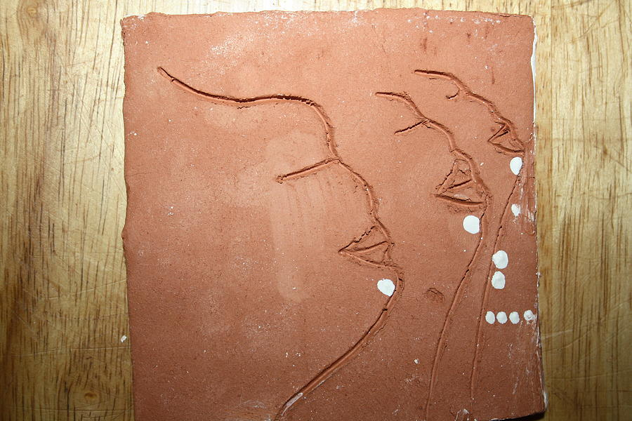 Faces - Tile Ceramic Art