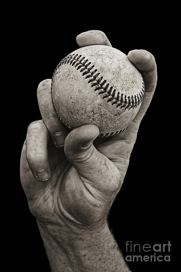 Fastball Photograph  - Fastball Fine Art Print