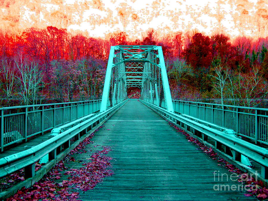 Fayette Station Bridge Photograph - Fayette Station Bridge by Amy Sorrell