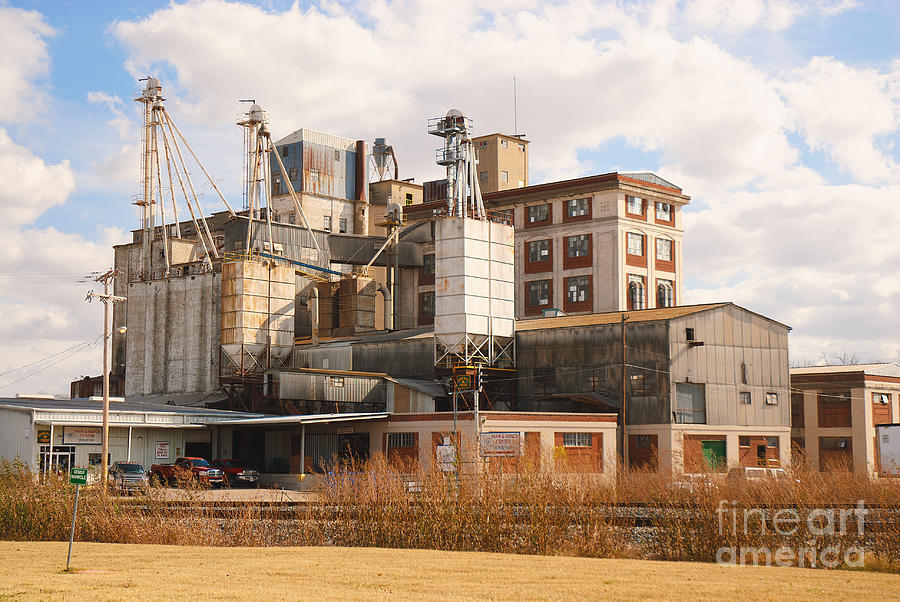 Feed Mill Photograph