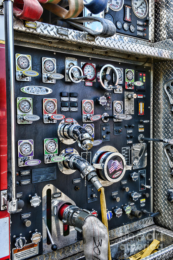 Fireman Control Panel Photograph