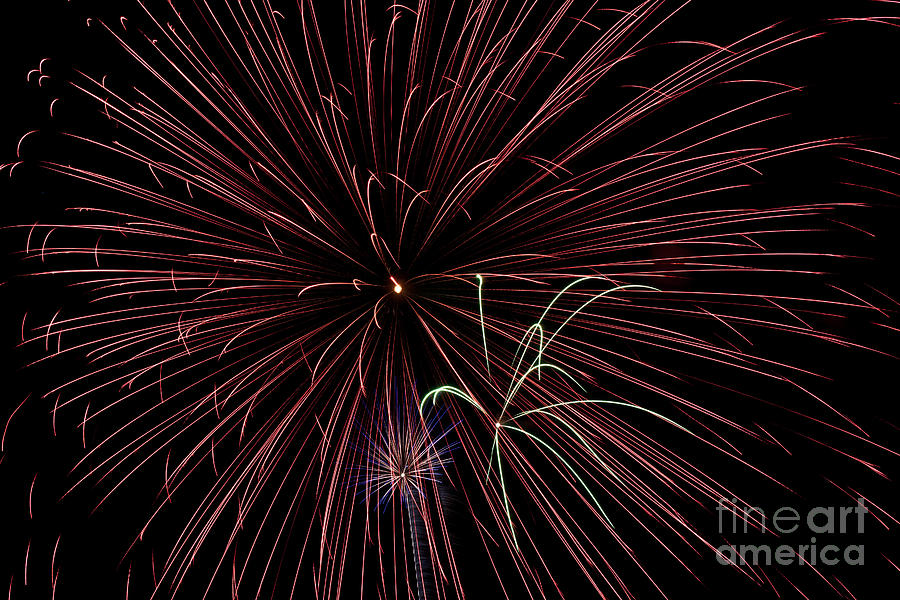 Fireworks Photograph - Fireworks by Jason Meyer