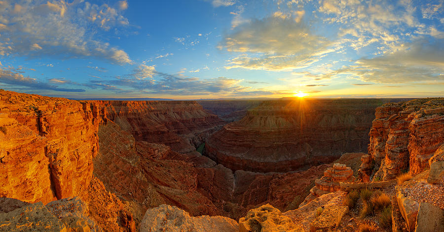 First Light Over Marble Canyon Photograph