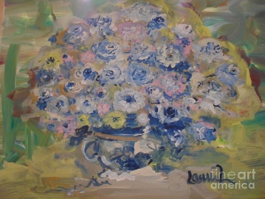 Flow Bleu Painting