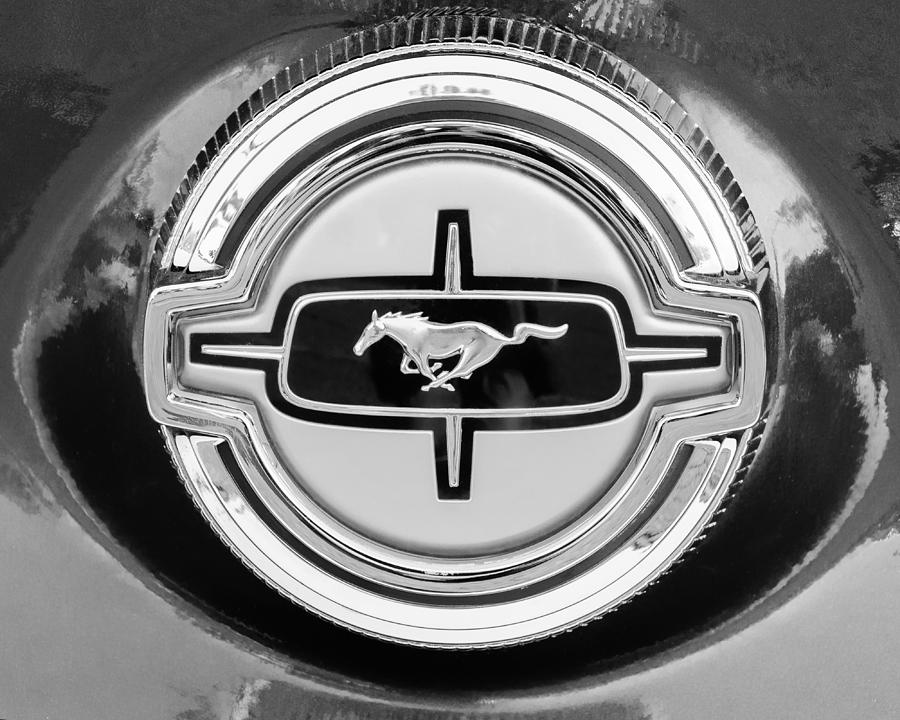 Ford Mustang Gas Cap Photograph  - Ford Mustang Gas Cap Fine Art Print