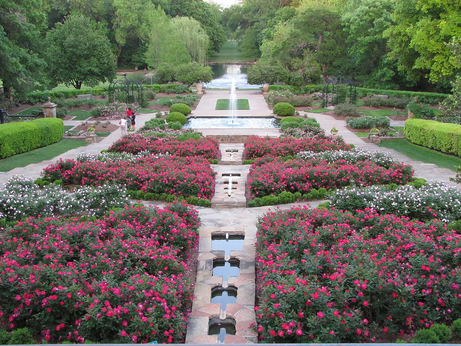Fort Worth Botanical Gardens Photograph By Shawn Hughes