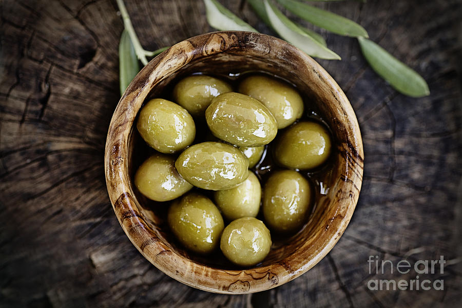 Fresh Olives Photograph