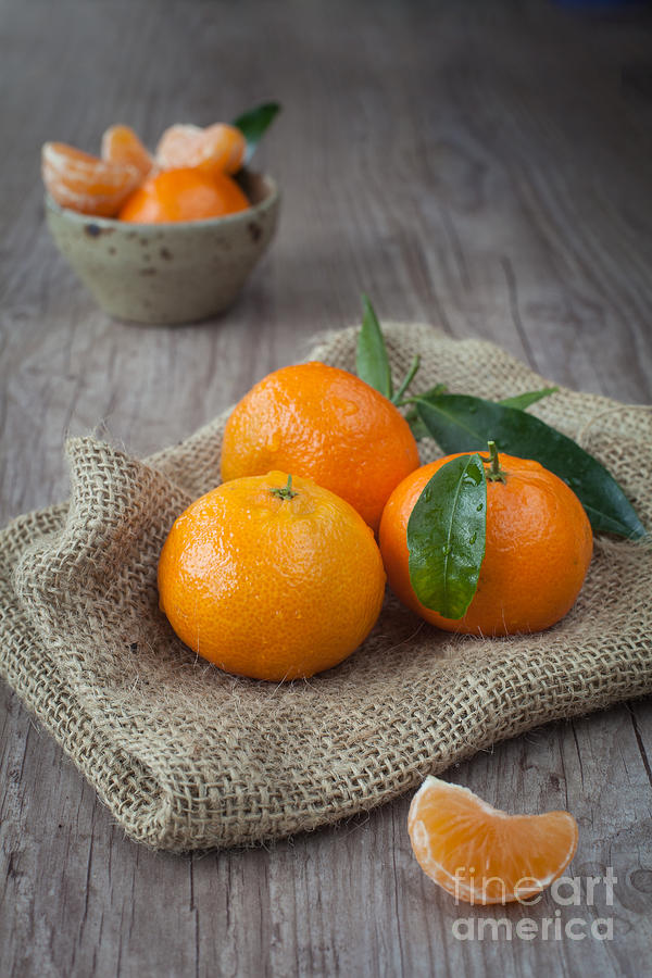 Fresh Tangerine Photograph