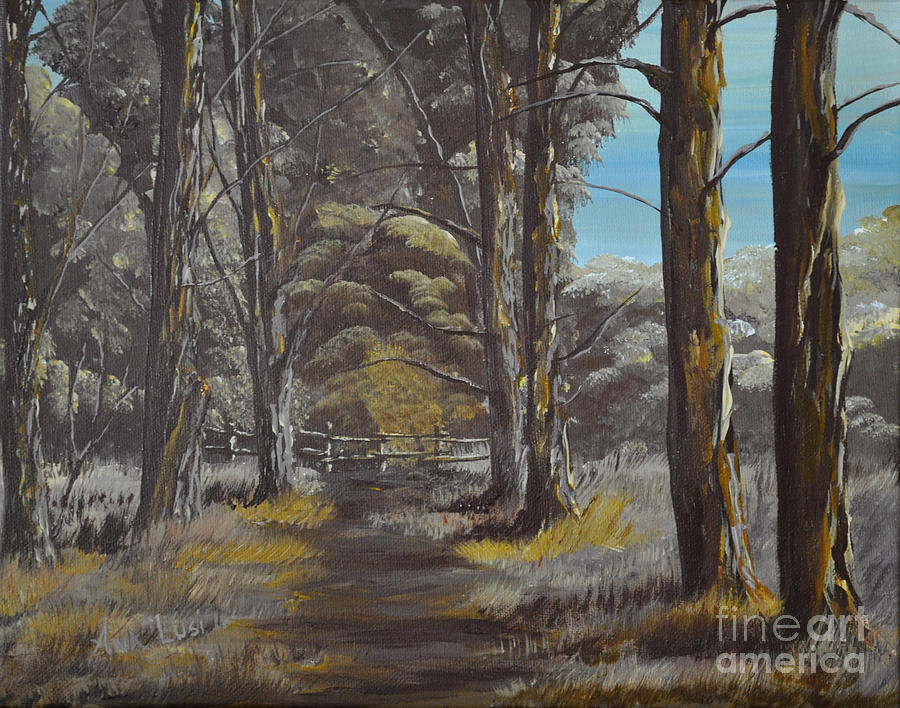 Gateway To Nature Painting  - Gateway To Nature Fine Art Print