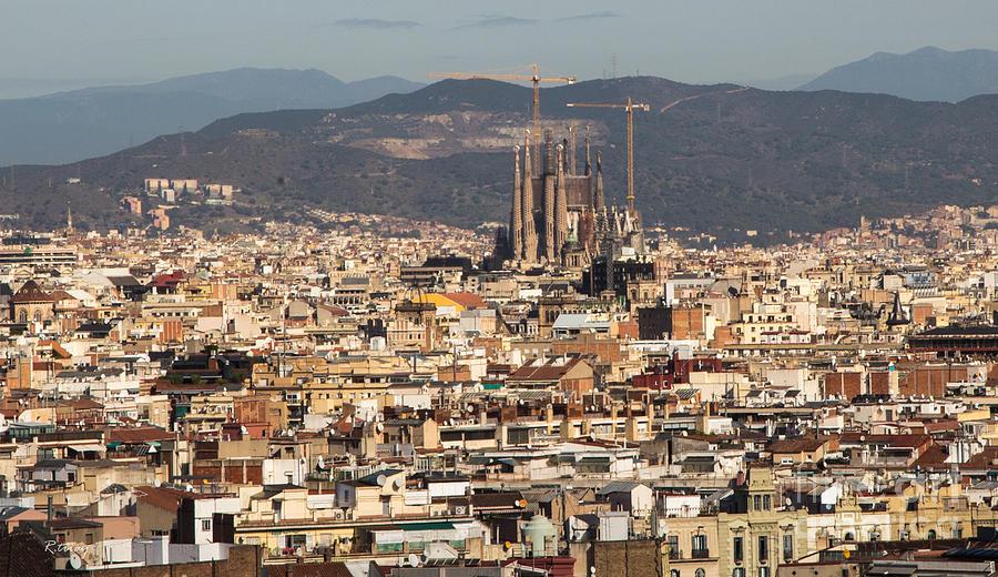 Gaudi La Sagrada Familia Barcelona  Photograph