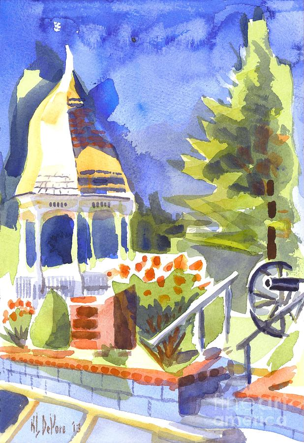 Gazebo II Painting