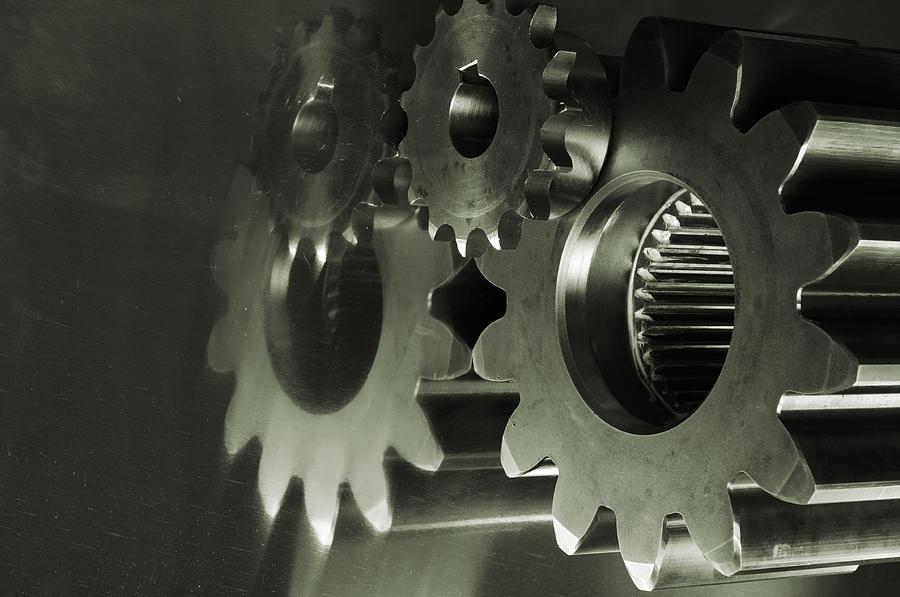 Gears And Cogwheels Photograph