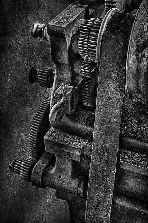 Gears And Pulley Photograph