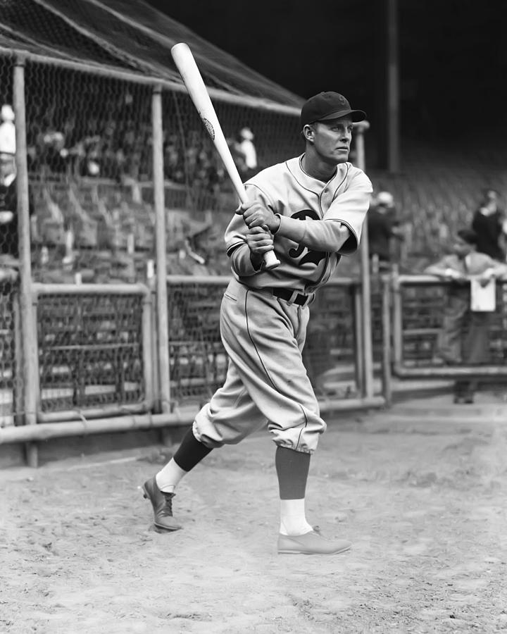 Baseball Photograph - George A. Watkins by Retro Images Archive