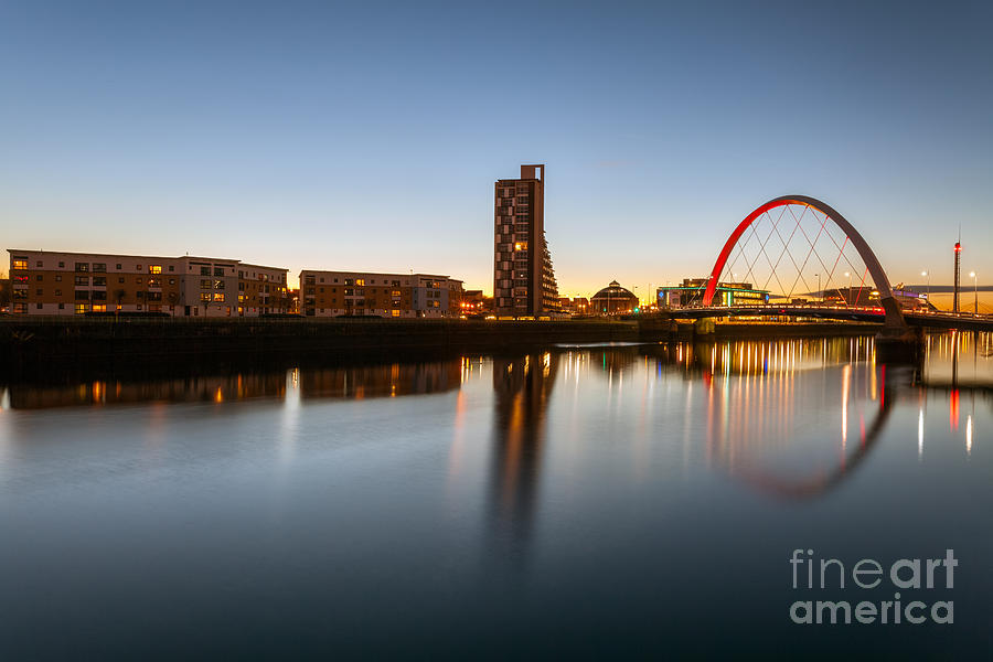 Glasgow Clyde Arc  Photograph  - Glasgow Clyde Arc  Fine Art Print