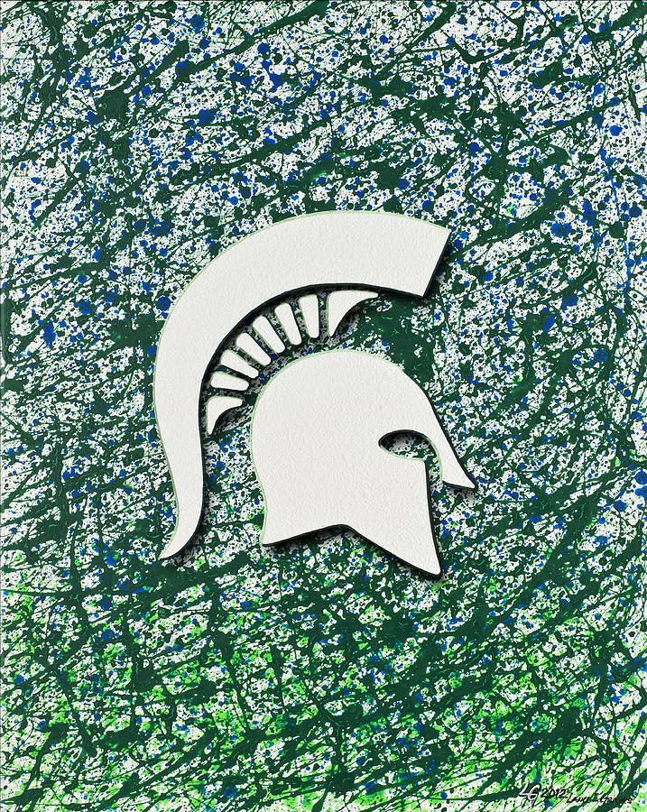 Go Spartans Painting