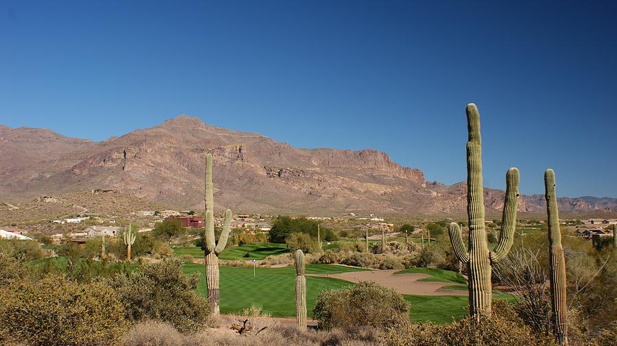 Gold Canyon Arizona Golf Photograph