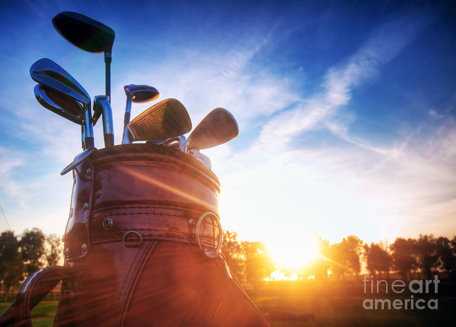 Golf Gear Photograph  - Golf Gear Fine Art Print