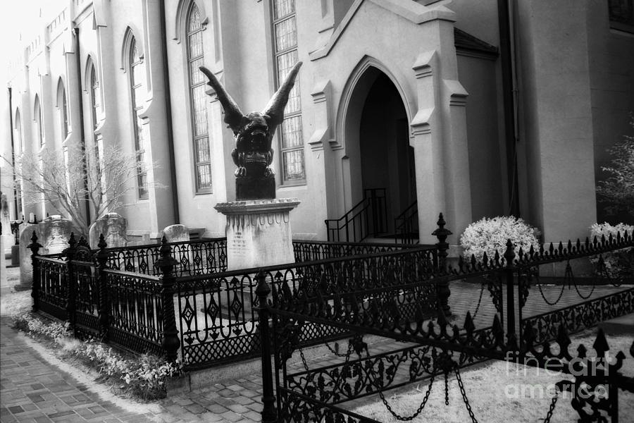 gothic surreal church gargoyle surreal guardian gargoyle