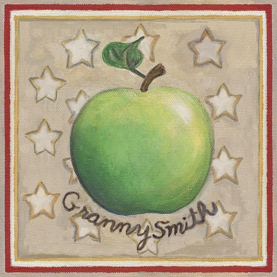 Granny Smith Apple Two Painting
