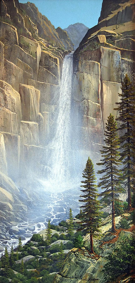 Great Falls Painting