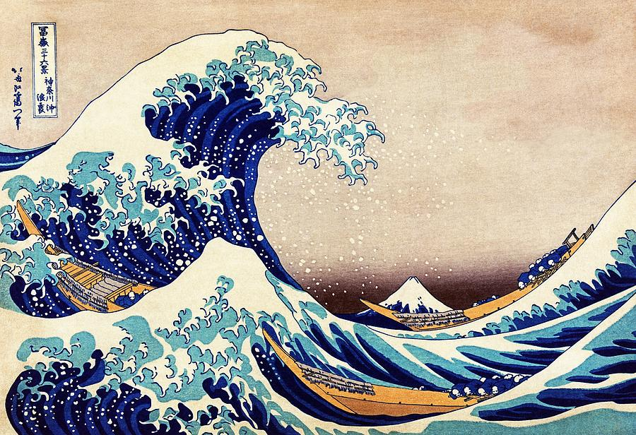 Great Wave Off Kanagawa Painting