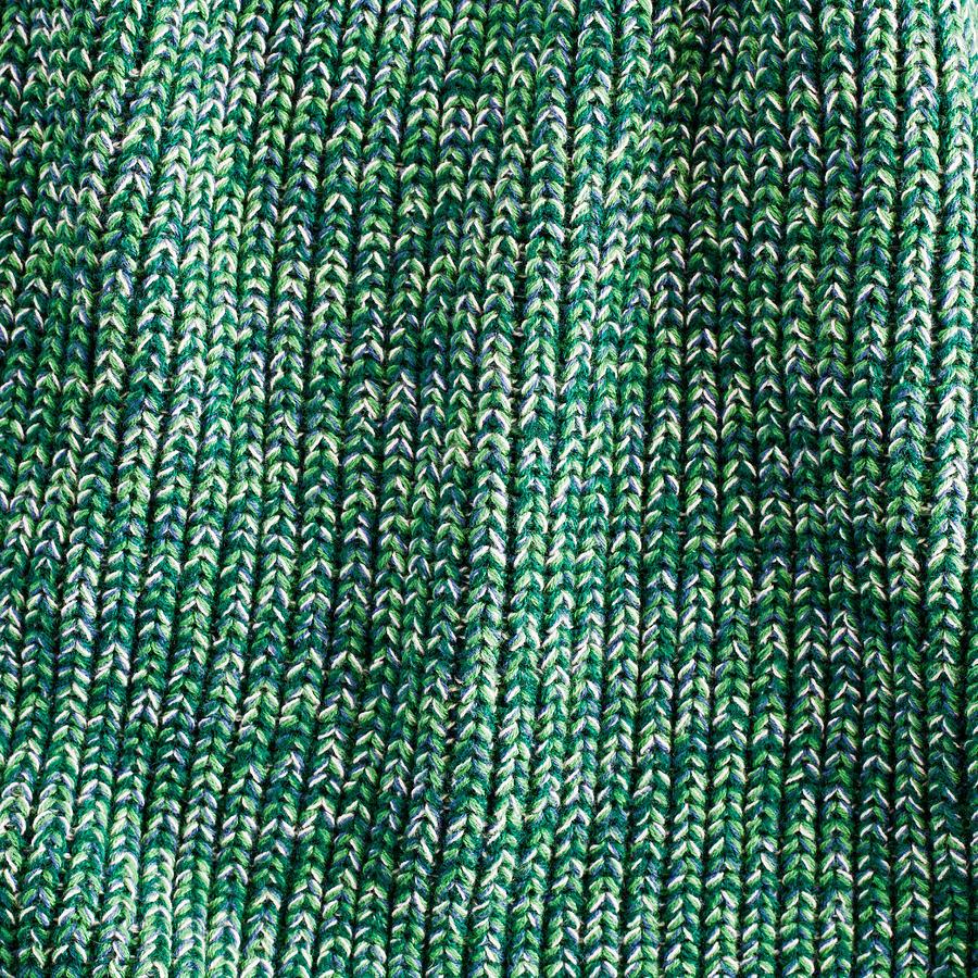 Green Wool Photograph