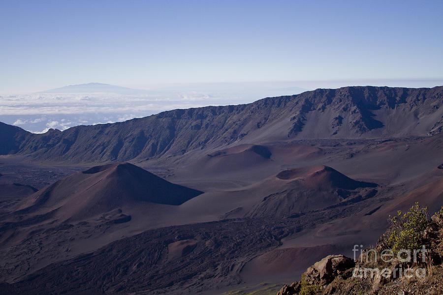 Haleakala Sunrise On The Summit Maui Hawaii - Kalahaku Overlook Photograph