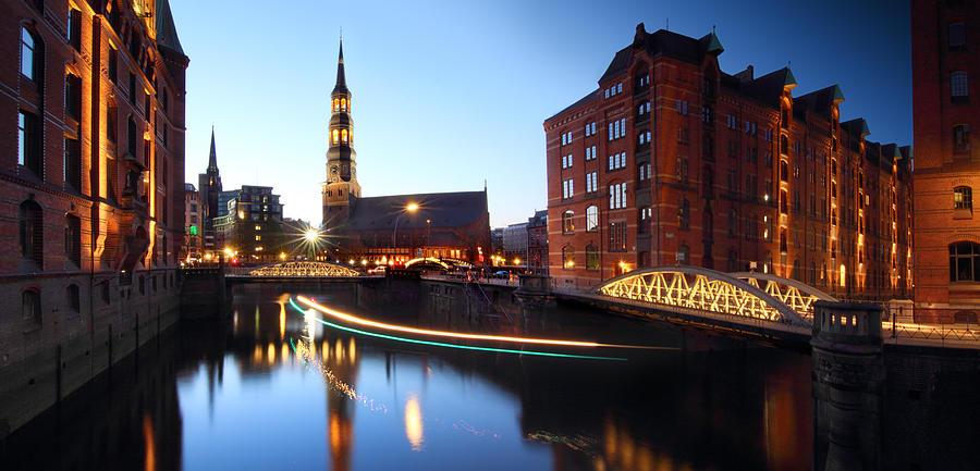 Hamburg Speicherstadt Photograph